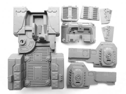 taurox prime chassis/hull